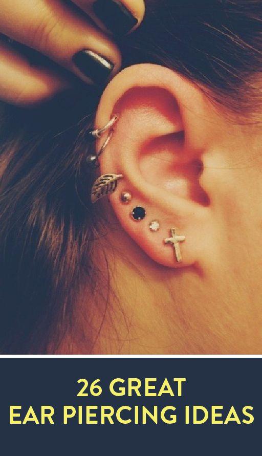 The 25 best top ear piercing ideas on pinterest ear for Tattoo piercing near me