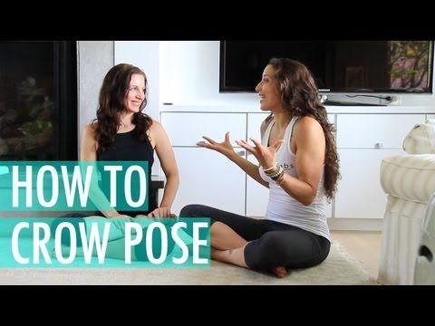 crow pose  how to yoga for beginners  bakasana
