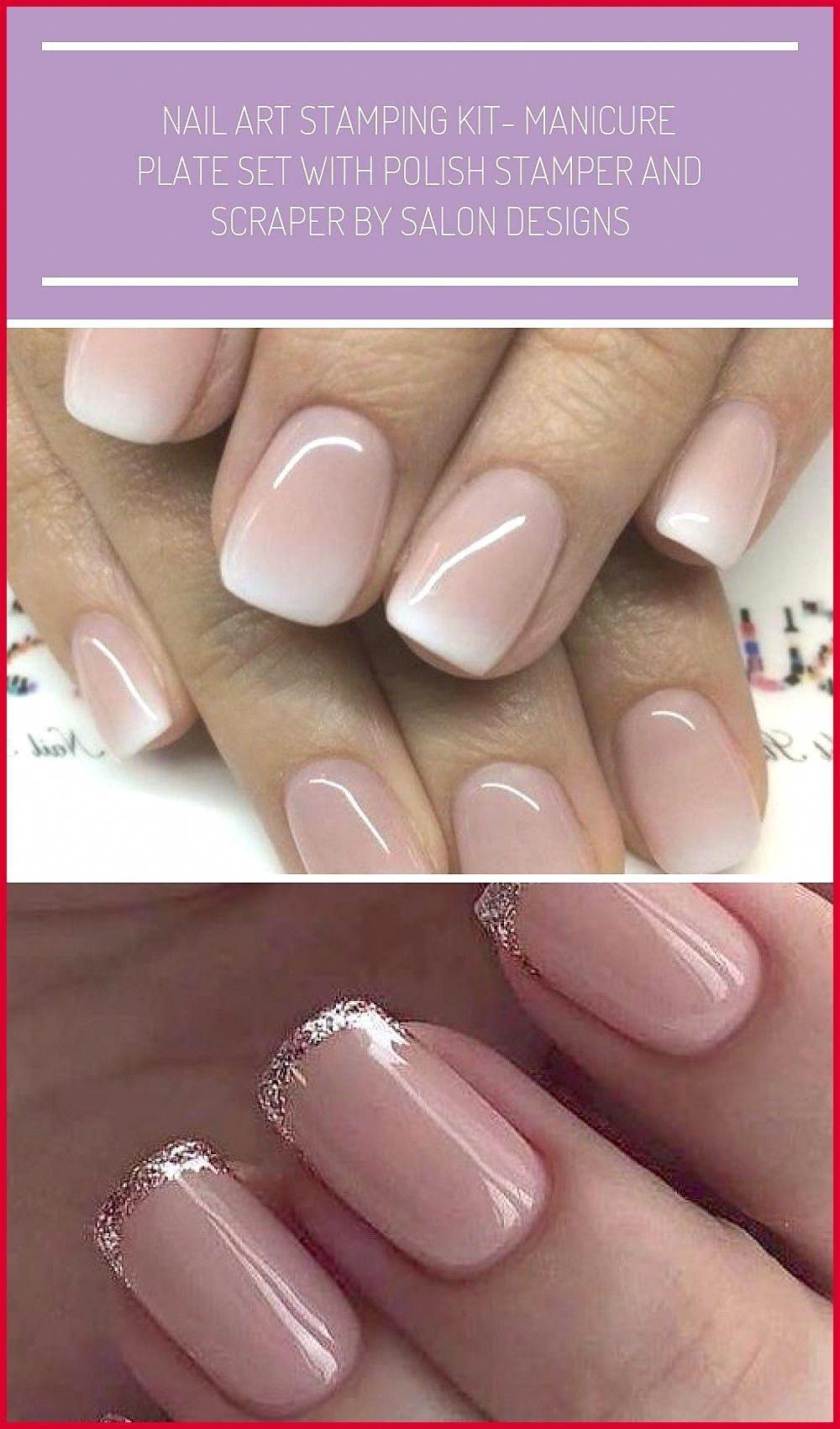 14 Ombre Nails Shellac Unghie Rosa Sfumate Bianche Acriliche