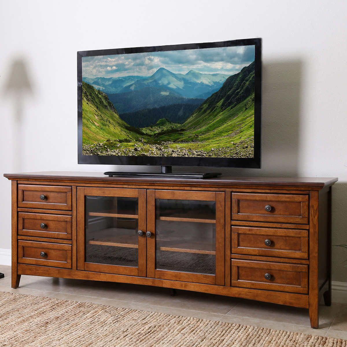 Taylor 72 Media Console Console Furniture Living Room Wall