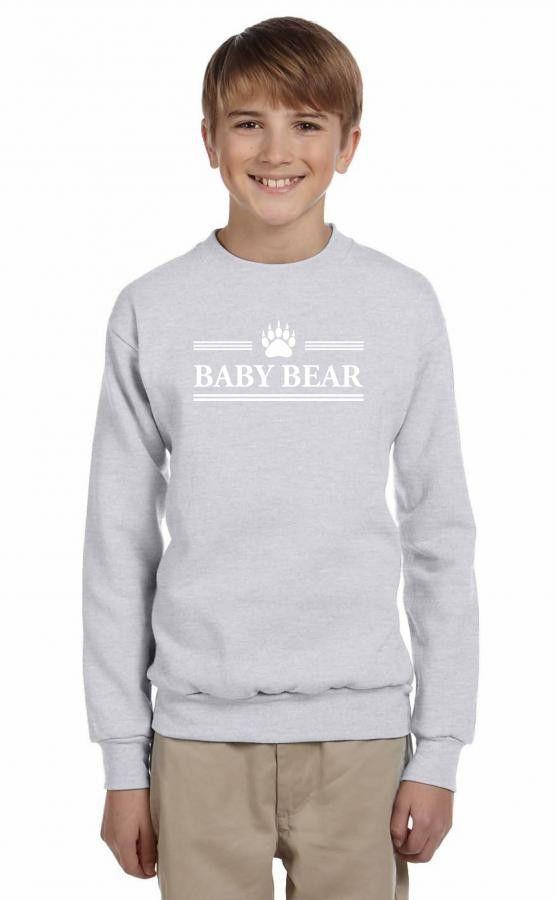 baby bear 1 Youth Sweatshirt