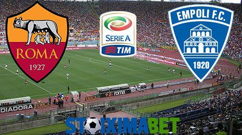 Προγνωστικά του Ρόμα – Έμπολι για το πρωτάθλημα της Serie A στην Ιταλία και ανάλυση του παιχνιδιού για το στοίχημα. stoiximabet 01/04/2017