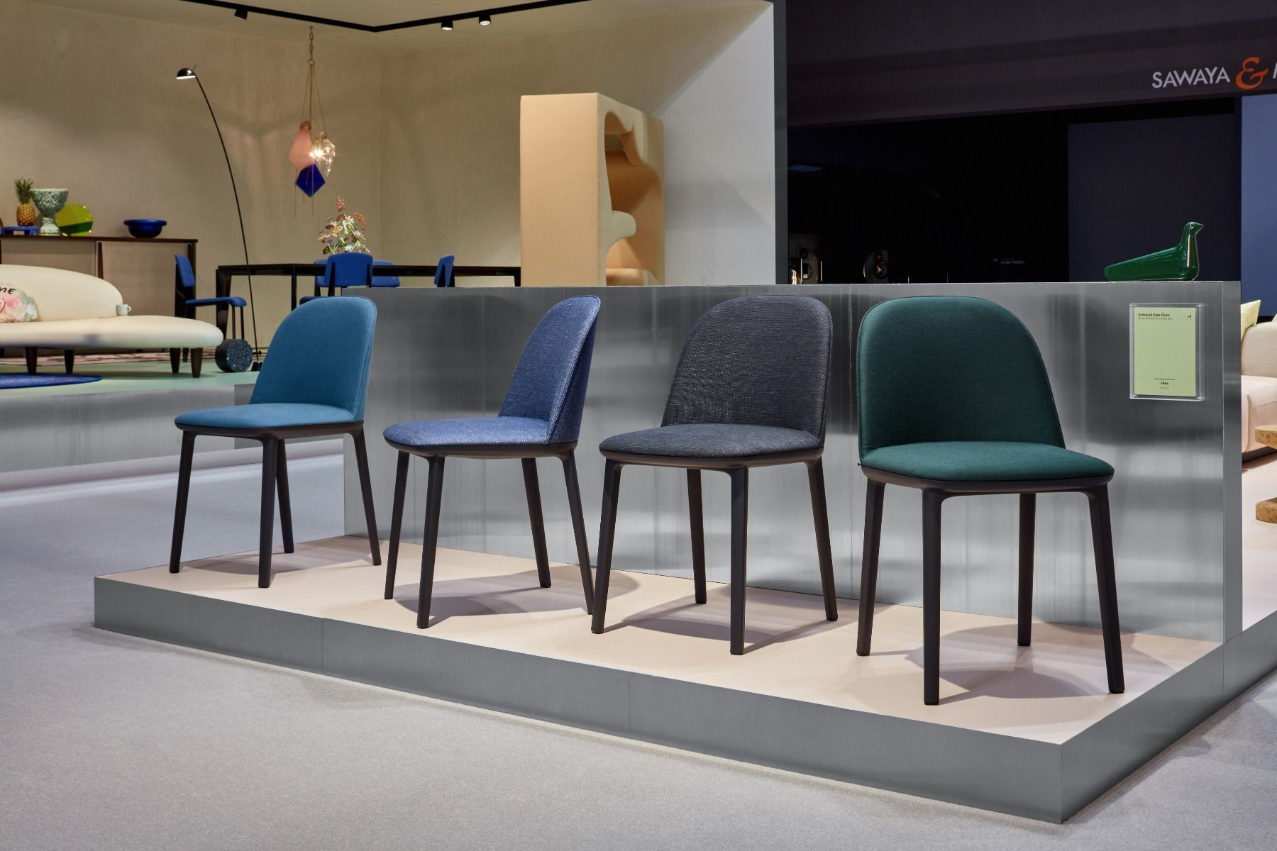 Trend Vitra Stoelen : Vitra softshell side chair stoel salonedelmobile milan vitra