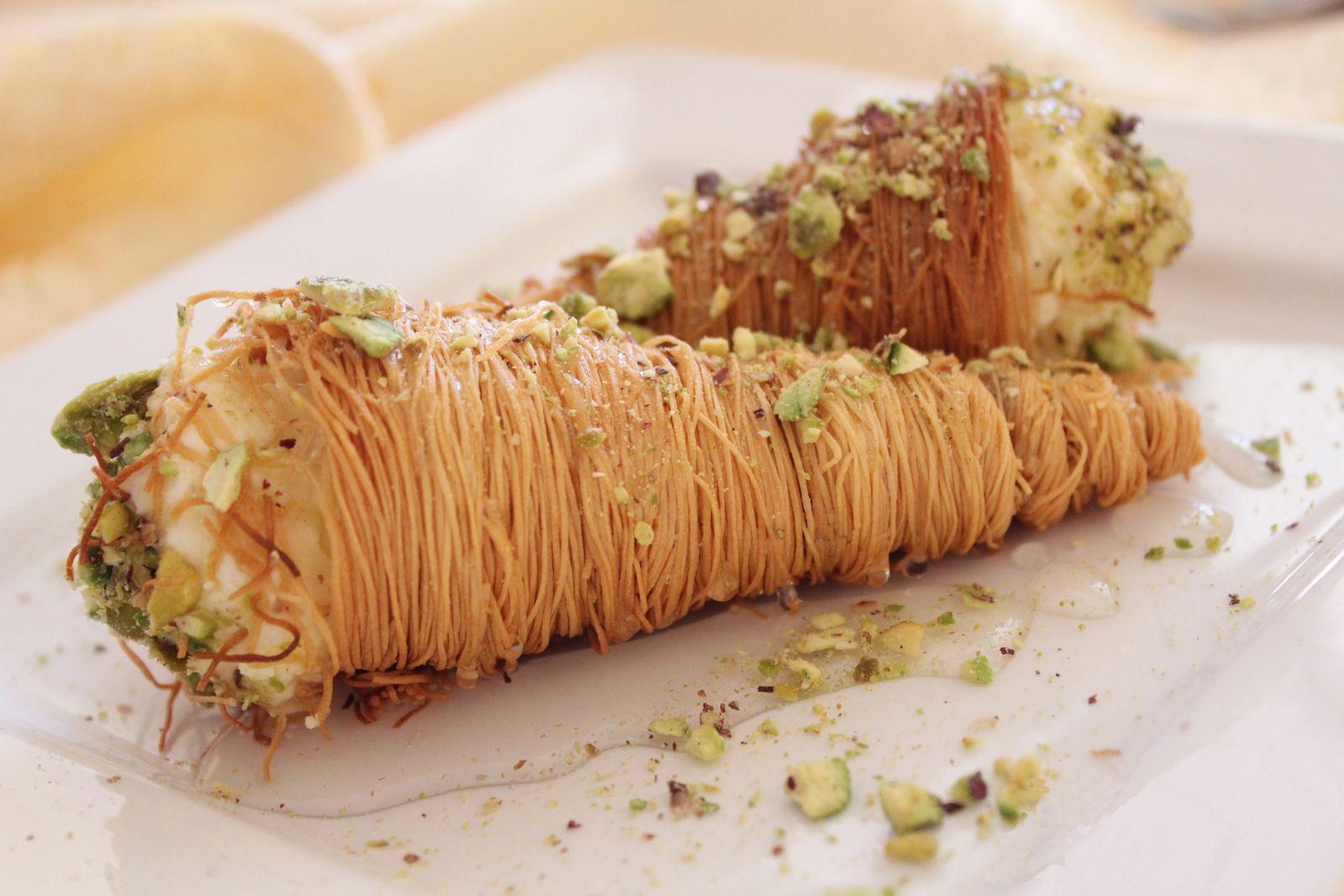 كنافة مالحة | Catering in 2019 | Arabic dessert, Dessert recipes