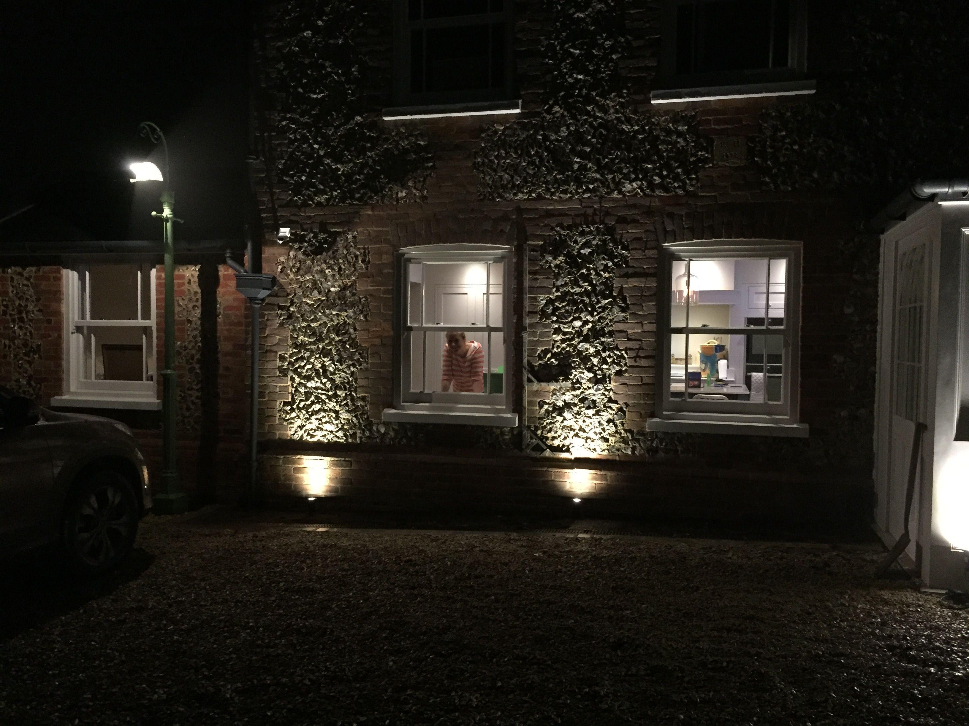 Uplighting flint at night Home renovation, Renovations, Uplighting