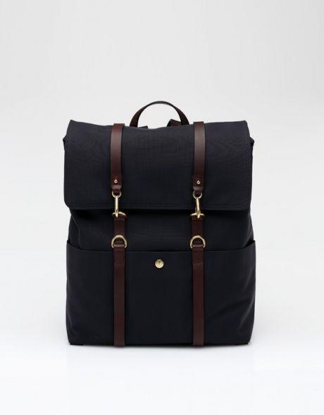 Backpack In Dark Blue