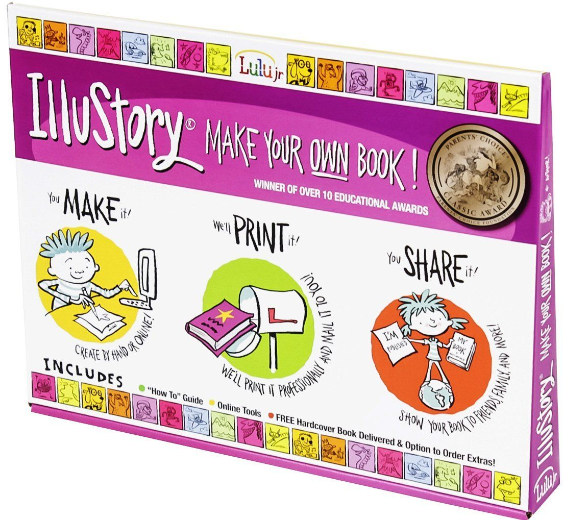 these are GREAT for kids! Lulu Jr. Illustory lets kids write and ...