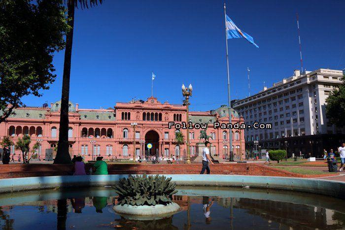 La Casa Rosada es la mansión ejecutiva y la oficina del Presidente de Argentina.
