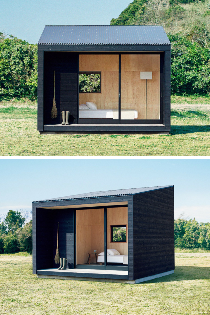reality of dream muji hut home pinterest haus kleines h uschen und gartenhaus. Black Bedroom Furniture Sets. Home Design Ideas