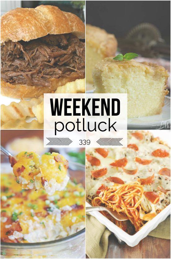 Weekend Potluck Recipes Week 339