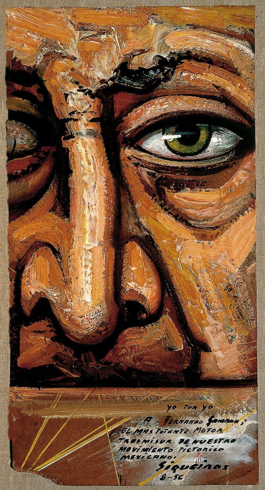 David Alfaro Siqueiros Arte Del Retrato Arte Mexicano Arte