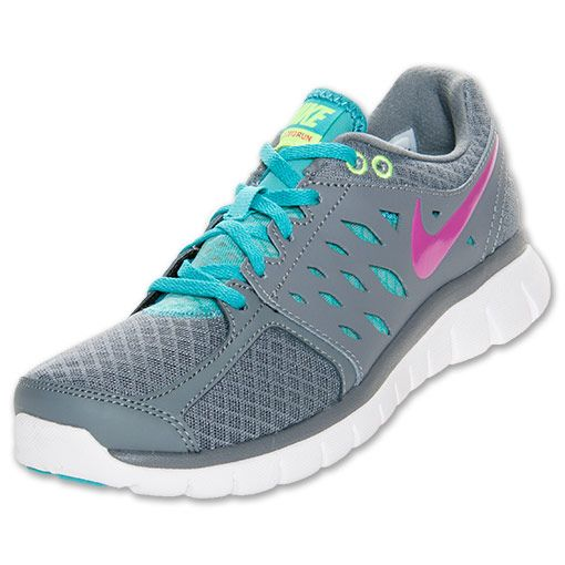 Nike Women's Running Shoes Flex 2013 Sport Turquoise/Volt/Fusion Pink