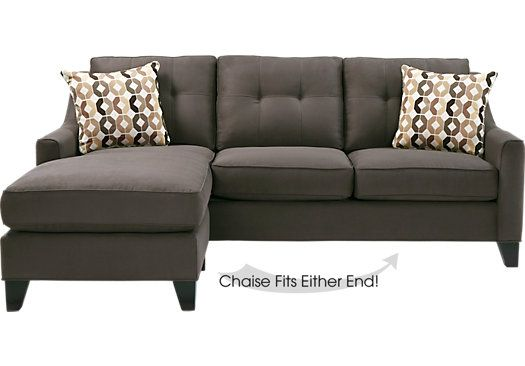 Miraculous Cindy Crawford Home Madison Place Slate 2 Pc Sleeper Evergreenethics Interior Chair Design Evergreenethicsorg