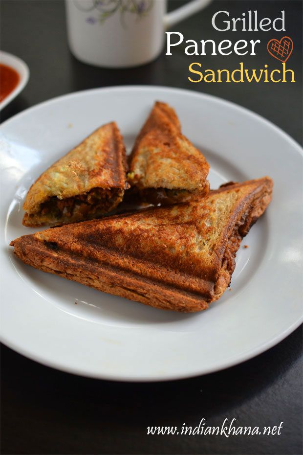 Grilled paneer sandwich recipe eat pray love pinterest grilled paneer sandwich recipe with step by step pictures healthy and filling bread paneer sandwich recipe toasted paneer sandwich good for lunch box forumfinder Choice Image