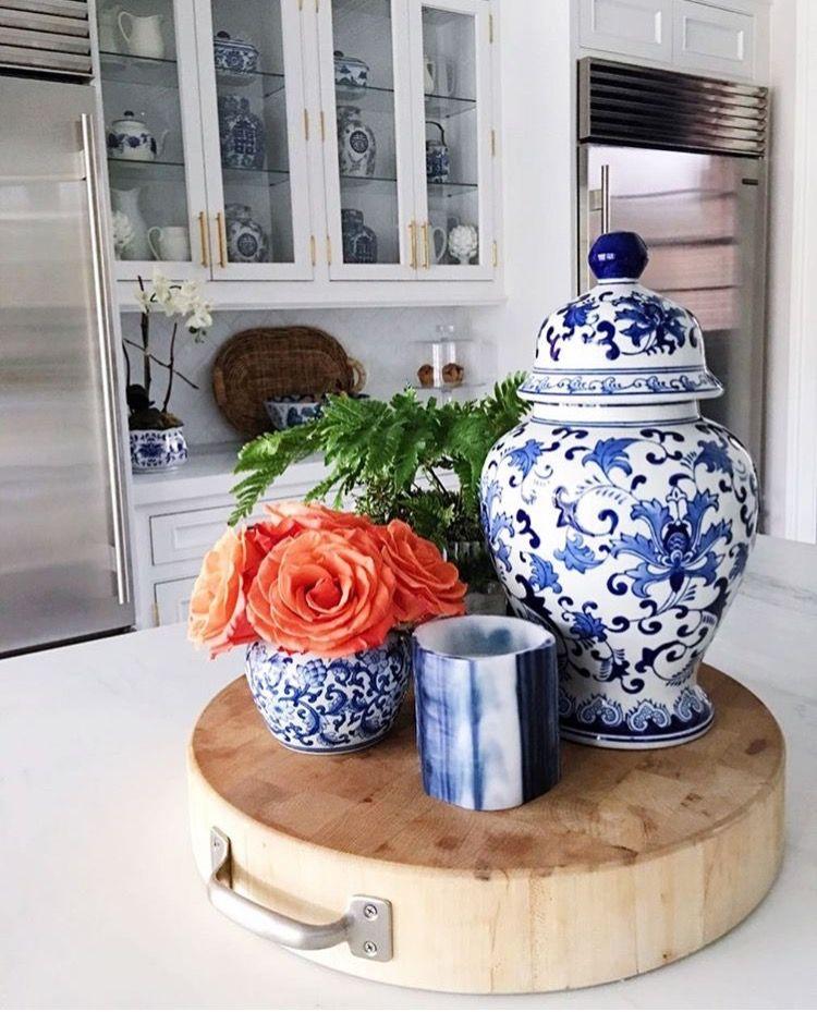 juliranne blue kitchen decor blue white kitchens home decor on kitchen decor blue id=45163