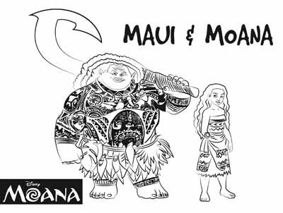 59 moana coloring pages january 2020maui coloring pages too  moana coloring pages