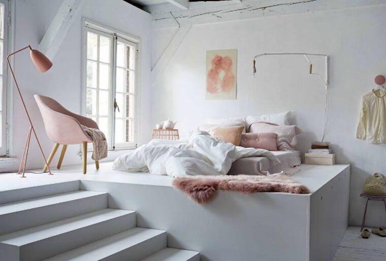 16 Ideas Para Decorar Una Habitacion Blanca Dormitorios Decoracion De Interiores Dormitorios Recamaras