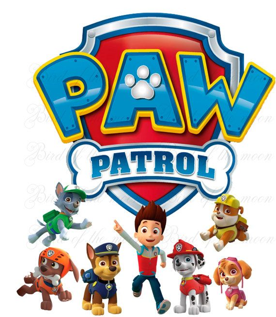 Instant Download Paw Patrol Team Printable Diy By Birdofthemoon 5 00 Paw Patrol Birthday Party Paw Patrol Birthday Paw Patrol Party