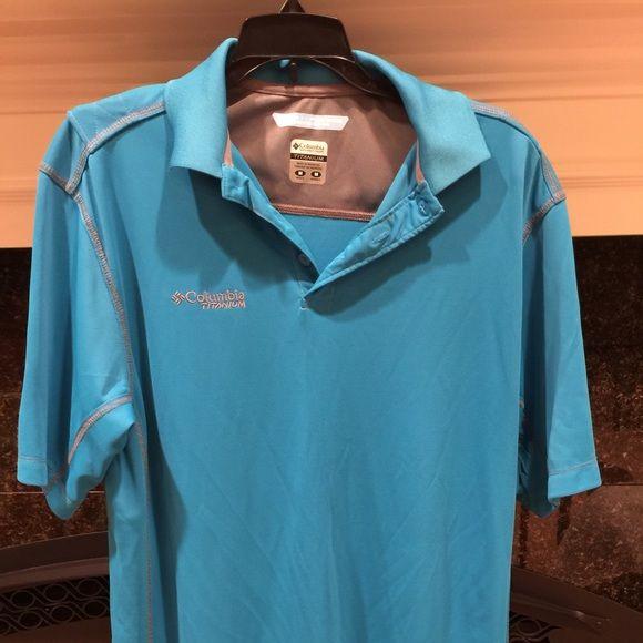 Men S Columbia Sportswear Titanium Polo Columbia Sportswear
