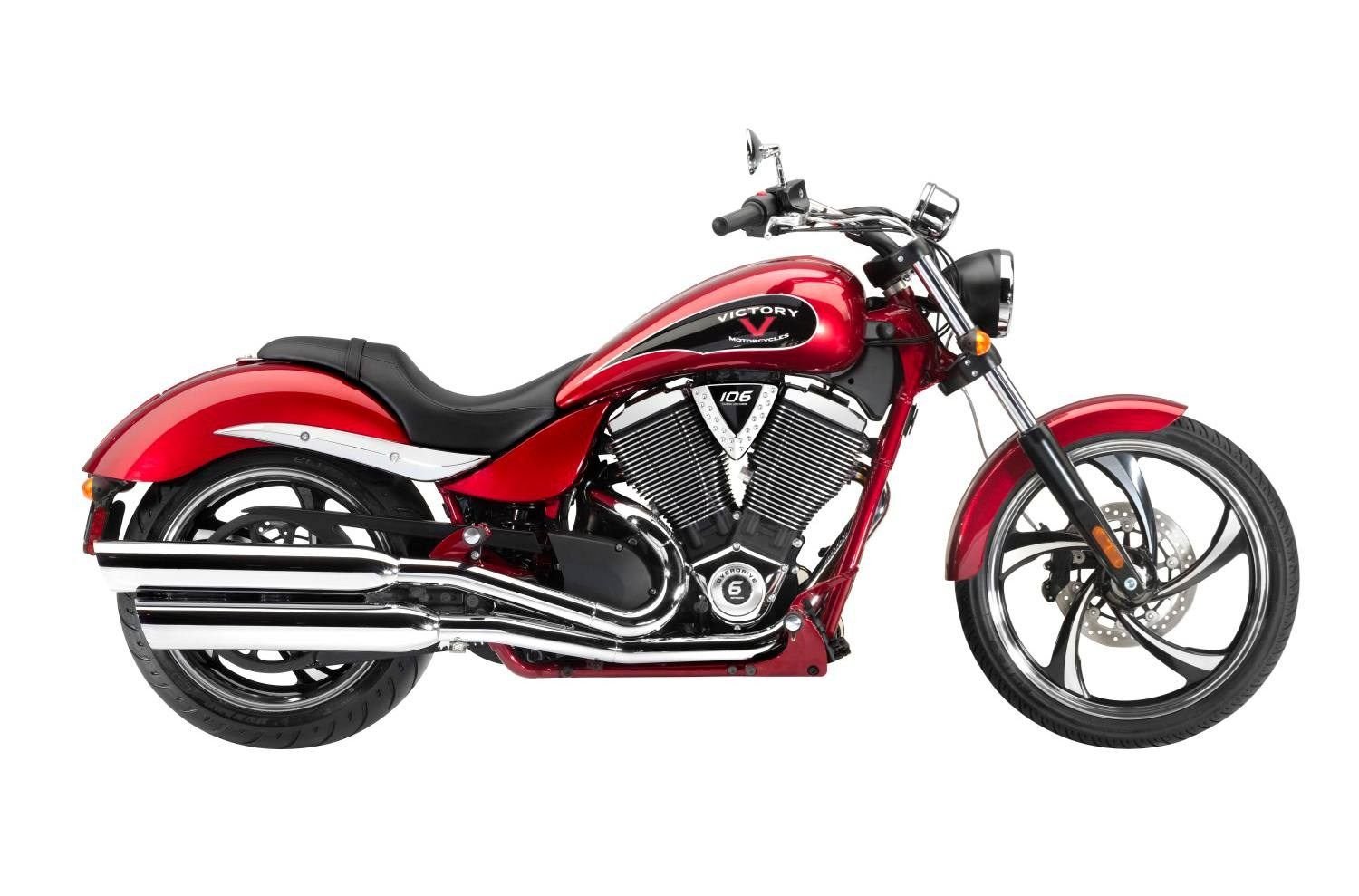 2014 Victory Motorcycles Jackpot™ Sunset Red & Gloss Black