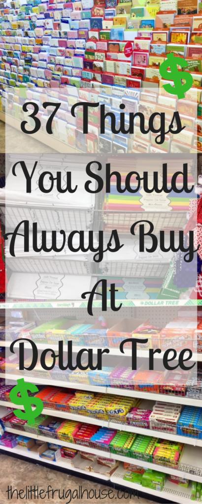 37 Things You Should Always Buy at Dollar Tree | dollar ...