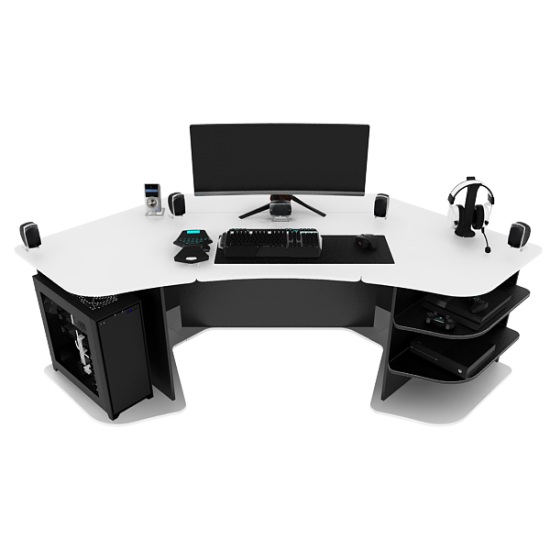 R2s Gaming Desk (BO) by PROSPEC DESIGNS is here! #gamingdesk