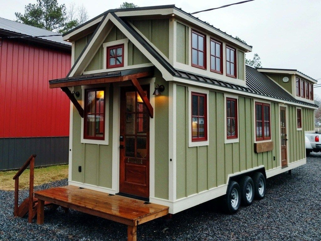 This Is A Super Long Timbercraft 37 Tiny House On Wheels
