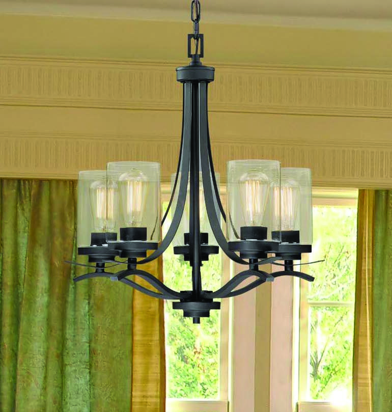 Ideal For An Entryway Or Dining Room This Rhine 5 Light