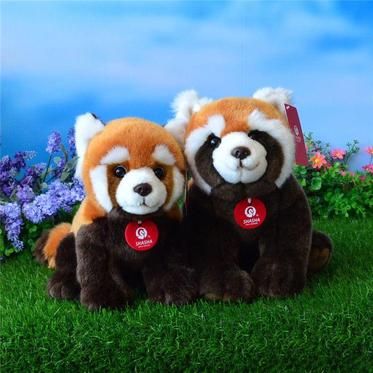 High Quality Simulation Red Panda Plush Toys Stuffed Animal Toy Soft