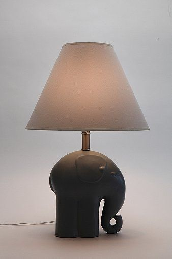 Elephant Lamp Base