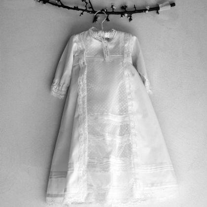 def1e348a2e41 Patron de couture de robe de baptême
