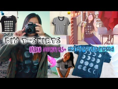 DIY Brandy Melville Graphic Tees | Without Iron-On Transfer