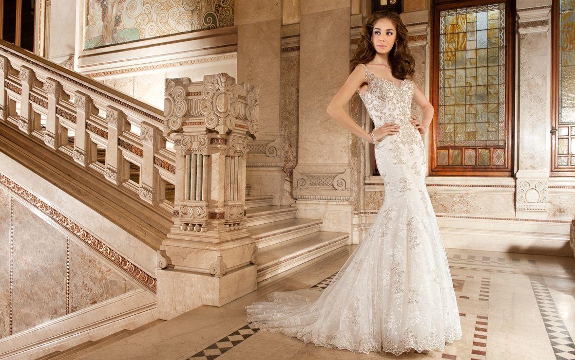 macy's wedding dresses Demetrios Wedding Dress Style available now at Macy s Bridal Salon in Chicago macysbridalsalon
