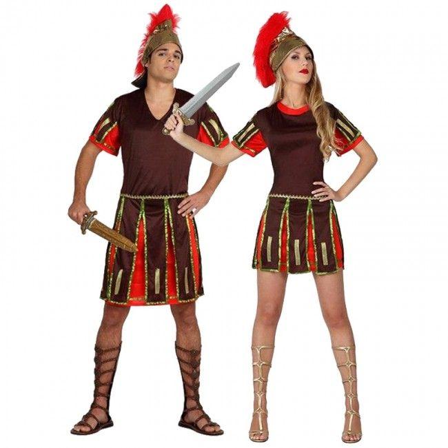 Pareja Romanos Espartanos  parejas  disfraces  carnaval  novedades2016 832966a565f8