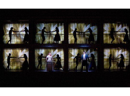 A Scene From Part Iii Of Berlioz S La Damnation De Faust At The Met Opera Scenic Design Metropolitan Opera Opera