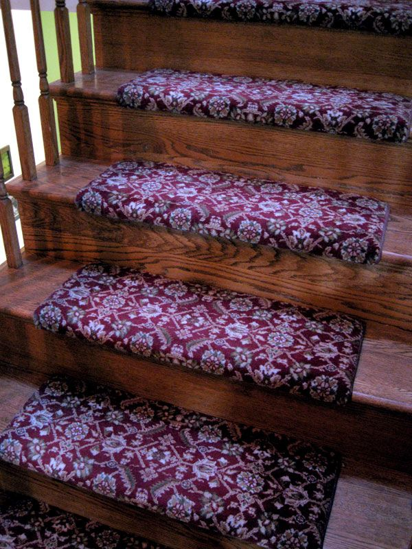 Best Persian Flatweave Stair Runner Treads Only Frederick 400 x 300