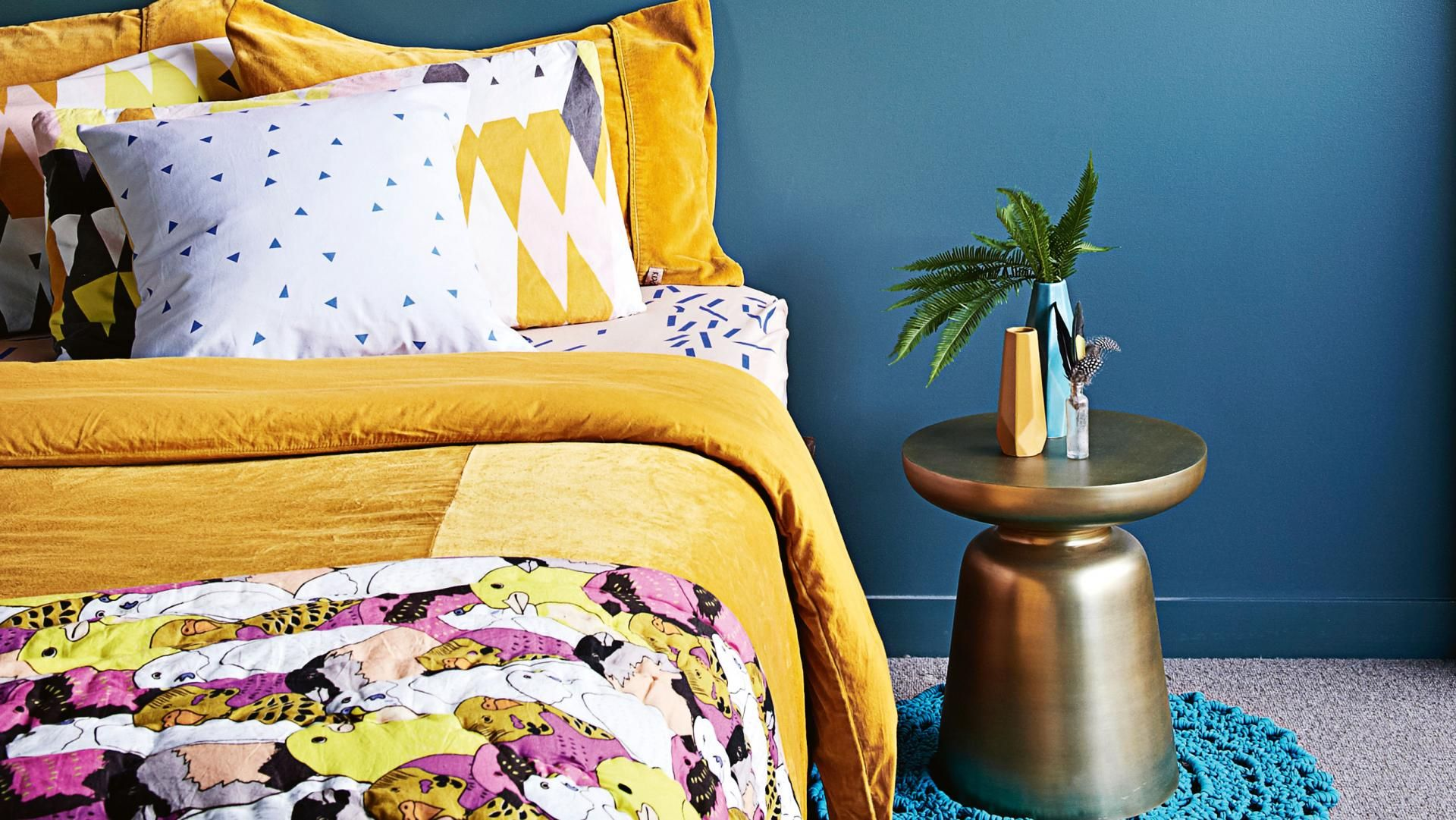 Colourful Bedrooms To Lift Your Mood