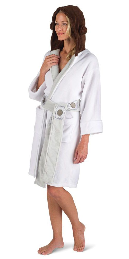 The Star Wars Princess Leia Fleece Robes - These are the hooded fleece robes  that transport 6f9bec943