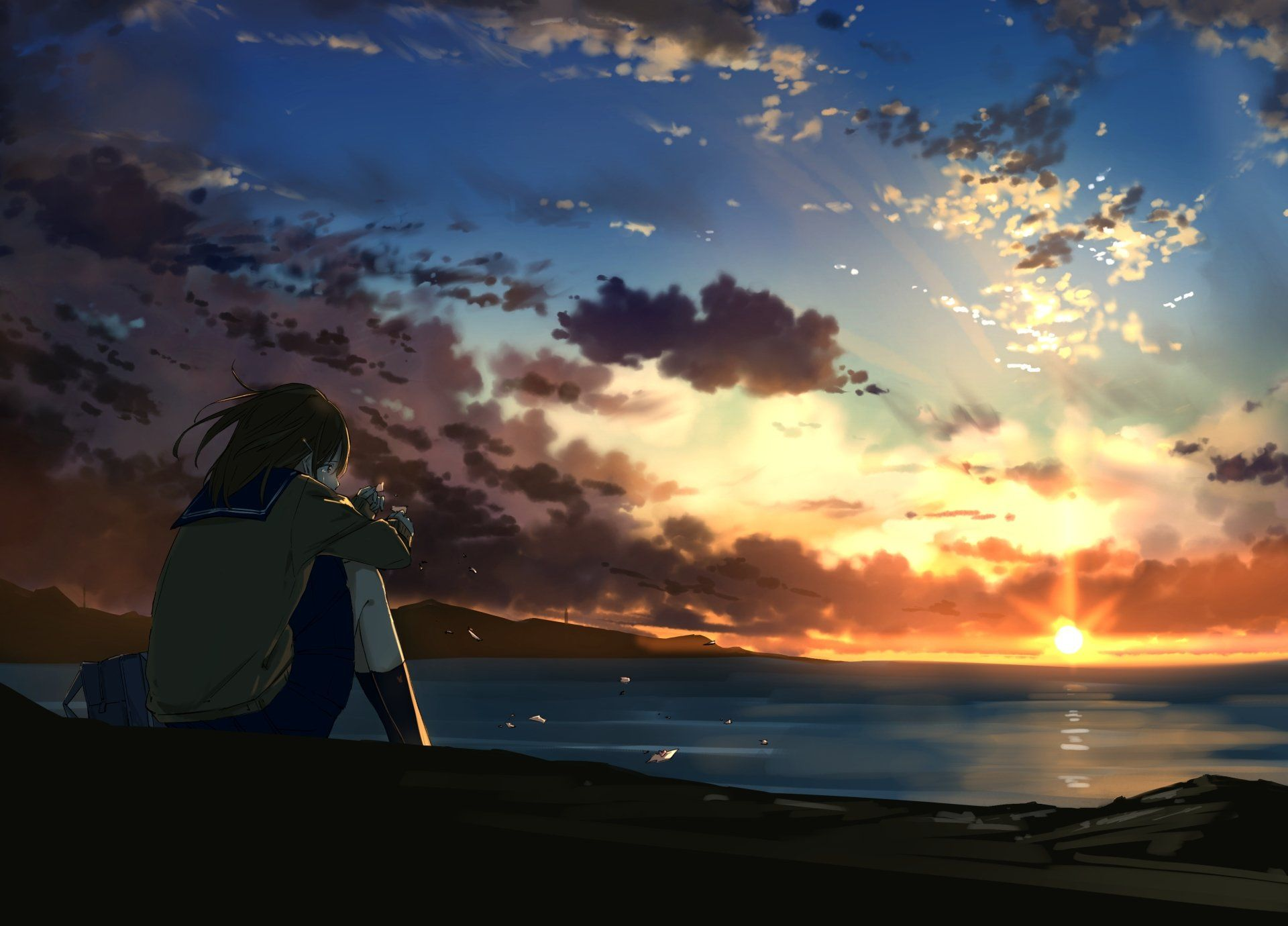 Anime If You Like It Follow Me Pls Wallpaper Abyss Anime Scenery Anime Scenery Wallpaper Anime Background