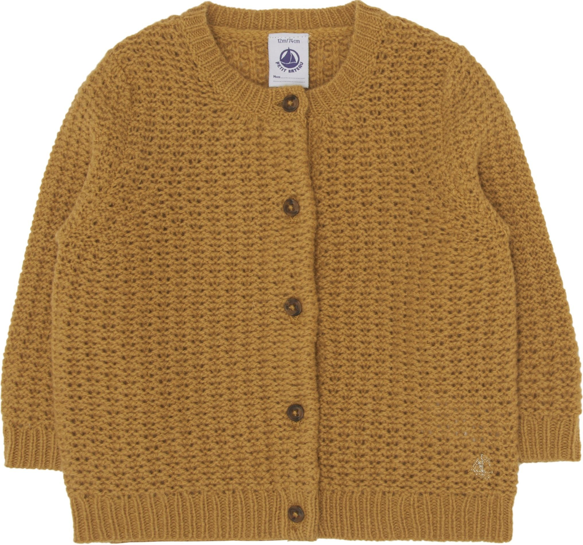 Shop The Petit Bateau Di Baby Cardigan In Yellow. Browse The ...