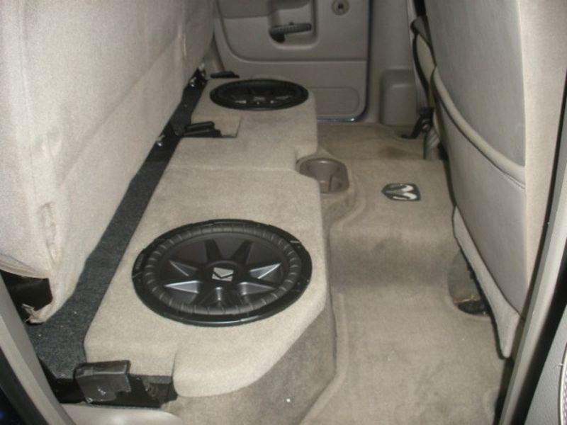 Dodge Ram Quad Cab Sub Box Dodge Ram Crew Cab Sub Box Sub Dodge Ram Dodge Trucks Ram Custom Car Audio