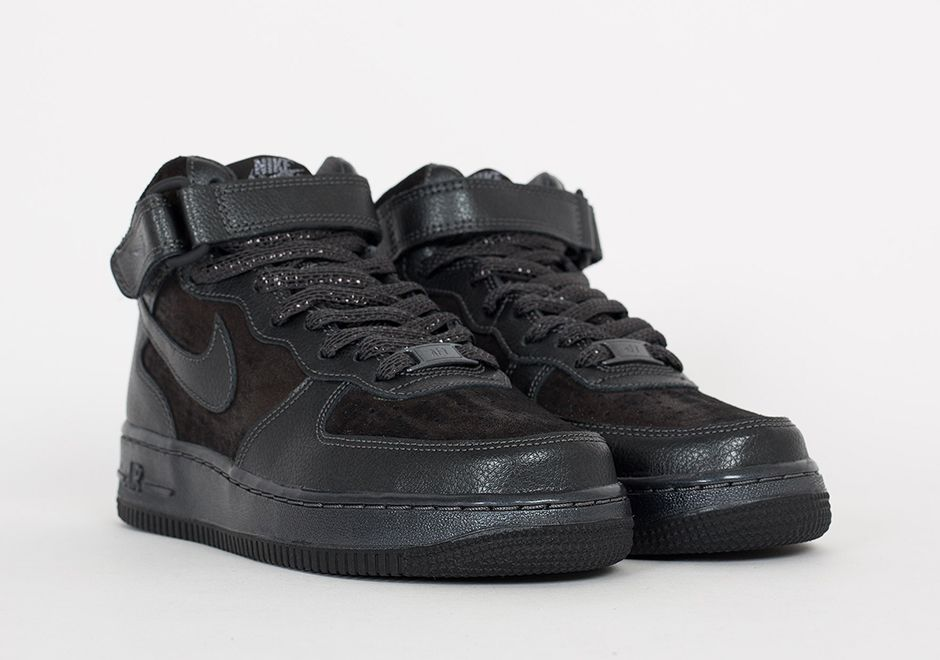 Nike's Premium Air Force 1 Mid Gets A Bit Shiny