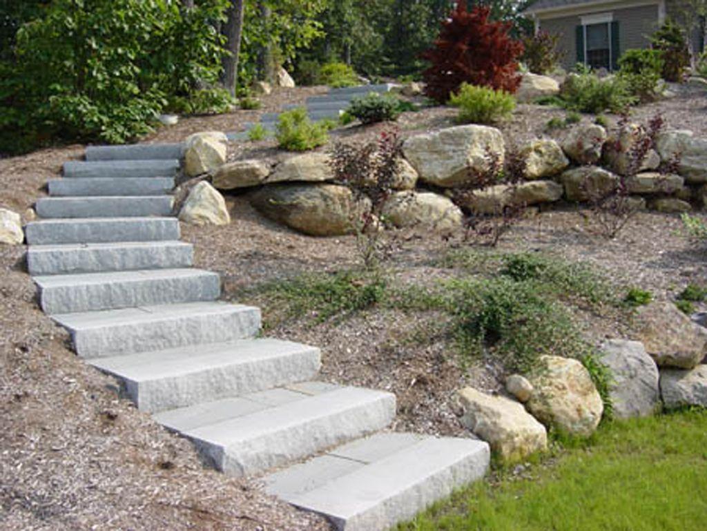 Best Connecticut Granite Steps Concrete Steps Landscape Steps 400 x 300