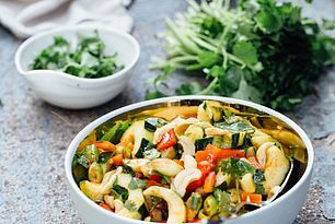 Thai Cucumber Salad with Cashews