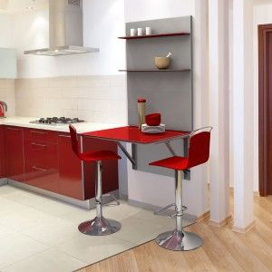 Mesas para Cocinas Pequeñas | Cocina pequeña, Mesas auxiliares y Mesas