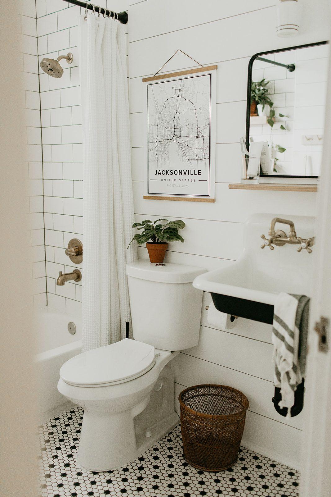 Bathroom Renovation Reveal Modern Vintage Bathroom Bathroom