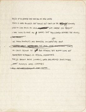 JeanMichel Basquiat Copied The MobyDick Table Of Contents Onto
