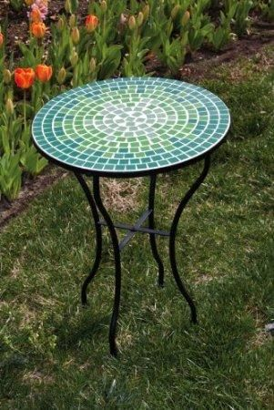 Patio Side Table Mosaic