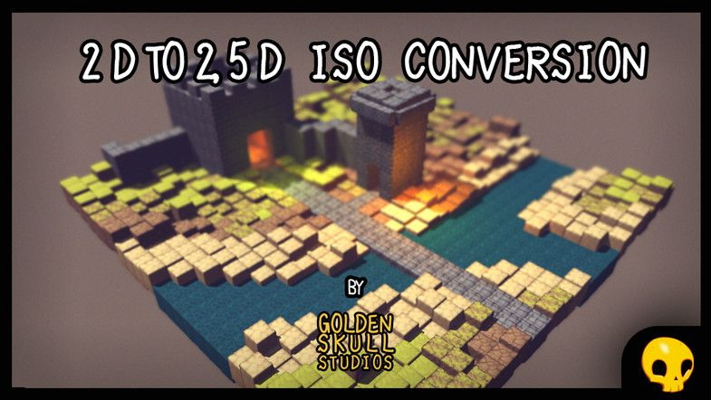2D To 2.5D Isometric Conversion Pack - €10.72
