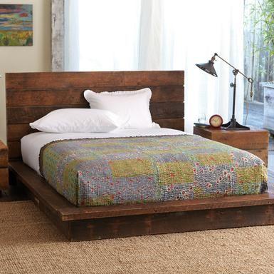platform bed | Wonderful@heART.. | Pinterest | Camas, Dormitorio y ...